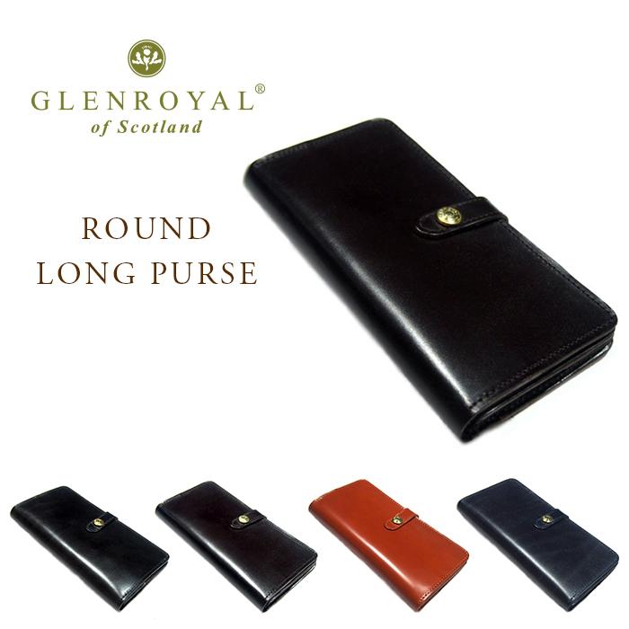 【期間限定20%OFF!】GLENROYAL(グレンロイヤル)/BRIDLE LEATHER ROUND LONG PURSE(ラウンド・ロングパース)
