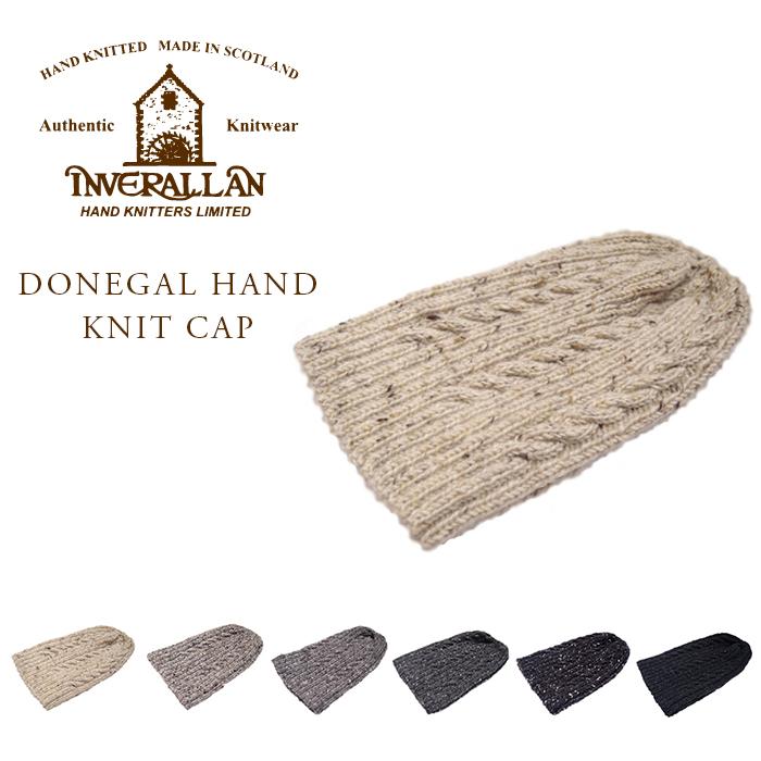 INVERALLAN(インバーアラン)/22F DONEGAL HAND KNIT CAP(ハンドニットキャップ)