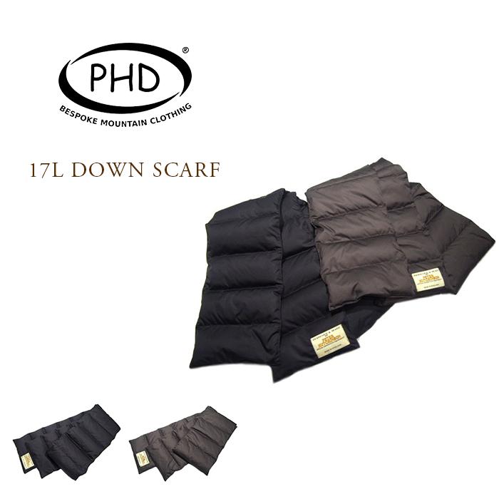 手数料無料 送料無料 あす楽対応 期間限定50%OFF P.H. DESIGNS セール特別価格 ピーエイチ SCARF ダウン DOWN 17L スカーフ デザイン