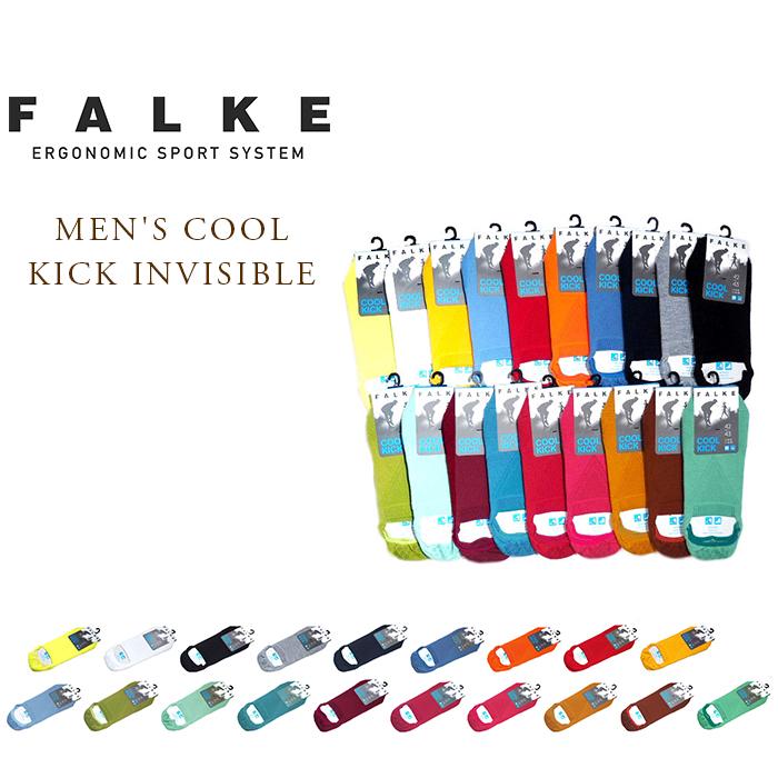 【正規取扱店】【あす楽対応】 【期間限定20%OFF!】FALKE(ファルケ)/#16601 MEN'S COOL KICK INVISIBLE(メンズ・クールキック・インビジブル)
