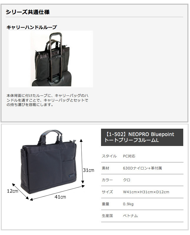 日本mekaendo包NEOPRO RED ZONE totobosutonkompakutorajisukurinkompyutaburifubijinesubakku ENDO1-502-41