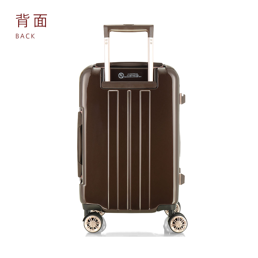 Suitcase SUITCASE carry case CARRY BAG carry bag carry-back super lightweight TSA lock equipped with medium-Mサイズ 5-1-week bag boram Carrie Yen reduction sale travel suitcase 72% off