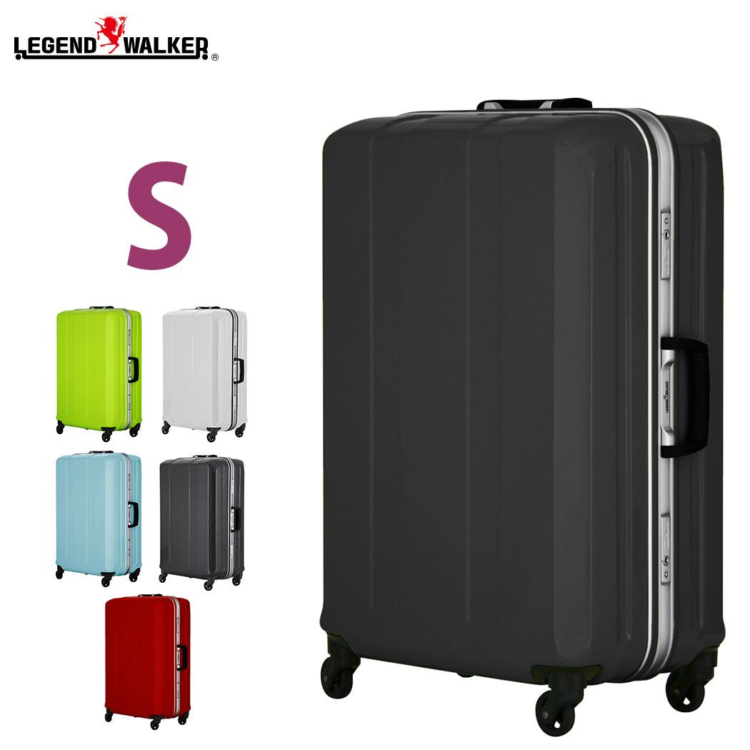 スーツケース キャリーケース キャリーバッグ 旅行用品 メーカー1年修理保証 LEGEND WALKER レジェンドウォーカー D-light ディライト 超軽量 ~4日 5日 小型 S サイズ 『6022-58』