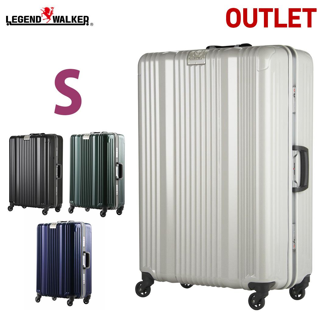 アウトレット 訳あり 激安 スーツケース キャリーバッグ キャリーケース LEGEND WALKER レジェンドウォーカー 超軽量 ~4日 5日 小型 S サイズ 『B-6026-58』