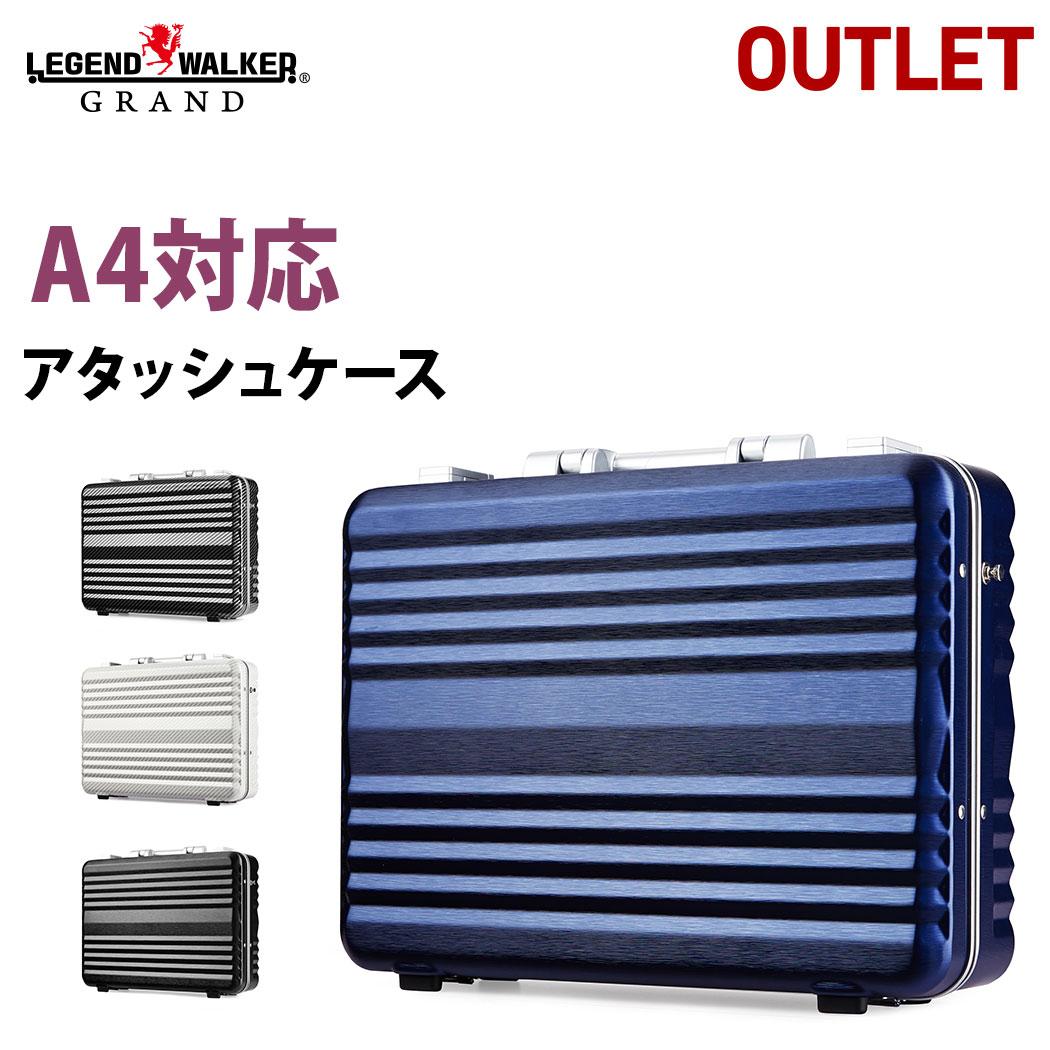 (ブラック) レジェンドウォーカー 6604 ビジネスアタッシュケース LEGEND WALKER/