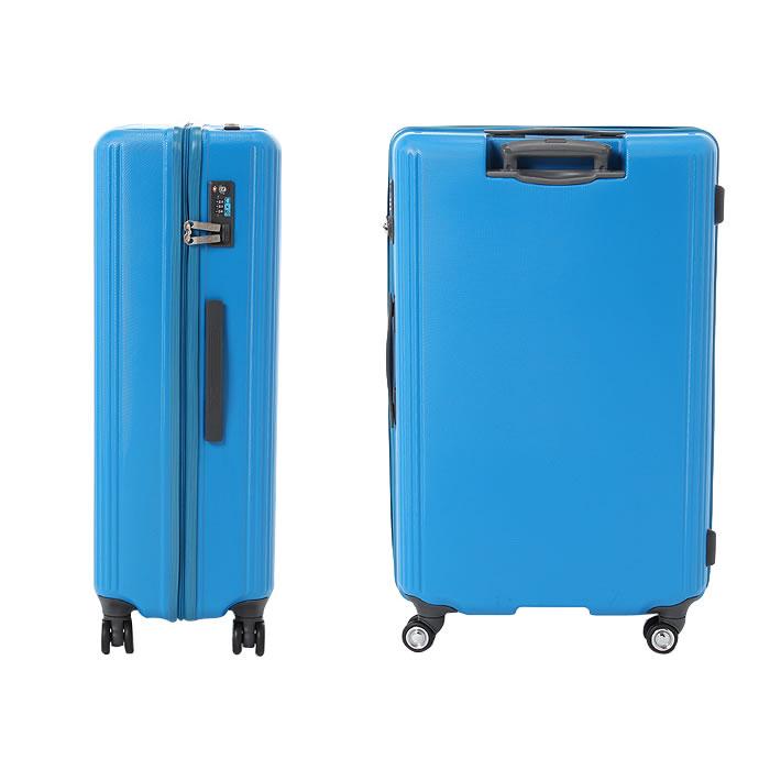 6162c673a4 商品説明十日以上の旅行に適したスーツケースです。 幾何学的なシボとリブが印象的なレトロモダンなデザイン。 ジッパータイプのケースの上面はフラットに設計されて  ...
