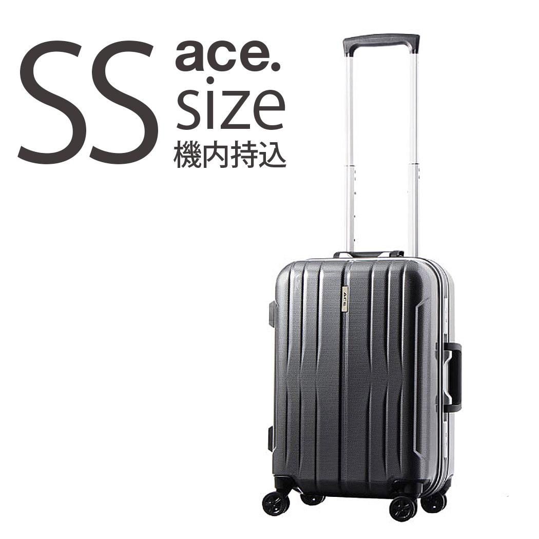 アウトレット ACE エース スーツケース B-AE-06186 イラプション SSサイズ 31リットル 機内持ち込み 可能 フレームタイプ キャリーバッグ キャリーケース 送料無料 ハードキャリー 小型 TSAロック