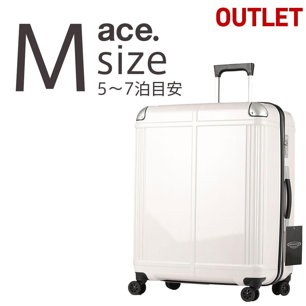 アウトレット TSAロック スーツケース ACE 送料無料 エースAE-06293 キャリーケース ACE キャリーバッグ 送料無料 Mサイズ ハードキャリー TSAロック, 静内郡:bb68aae2 --- sunward.msk.ru