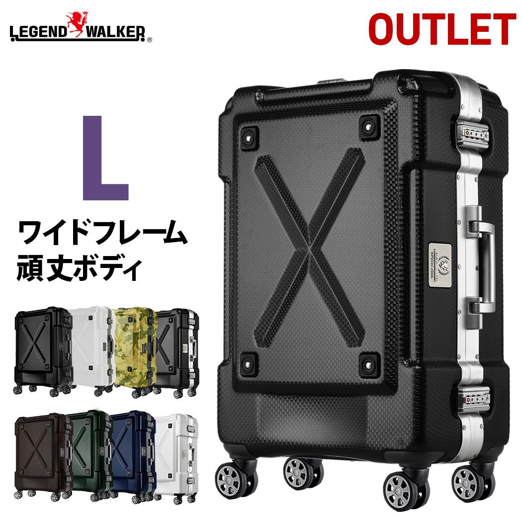 【割引クーポン配布中】スーツケース キャリーケース キャリーバッグ L サイズ 超軽量 PC100%素材 フレーム キャリーケース キャリーバッグ 旅行用品 大型 新作 7日 8日 9日 無料受託手荷物 158cm 以内 アウトドア『B-6302-69』