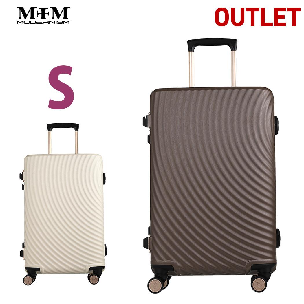 【アウトレット】 スーツケース キャリーケース キャリーバッグ Sサイズ 1~3泊 ダイヤル TSAロック MEM モダンリズム 【M1004-F50】