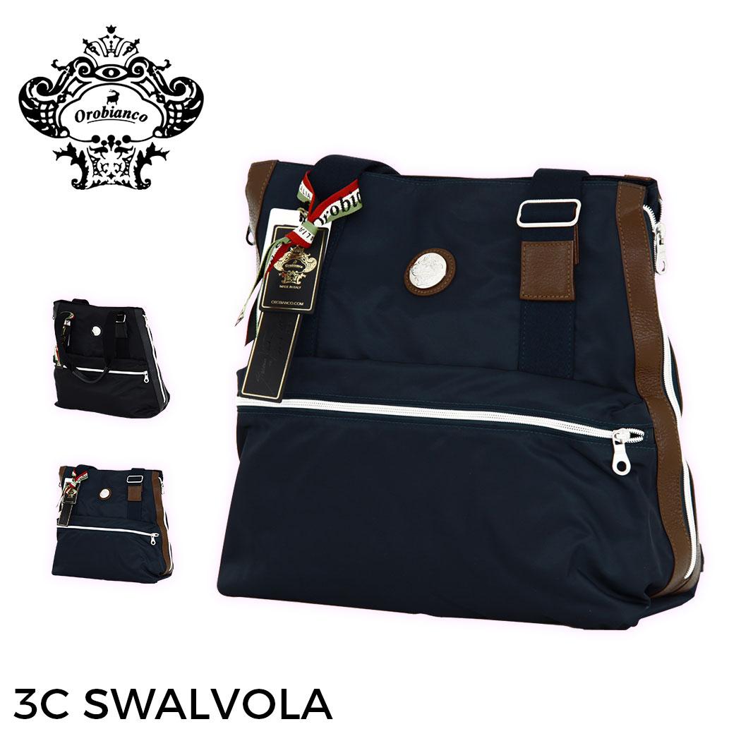 【割引クーポン配布中】【無料ラッピング】トートバッグ バッグ ビジネス 鞄 旅行かばん 出張 OROBIANCO オロビアンコ 3C SWALVOLA MADE IN ITALY イタリア製 送料無料 『orobianco-90214』