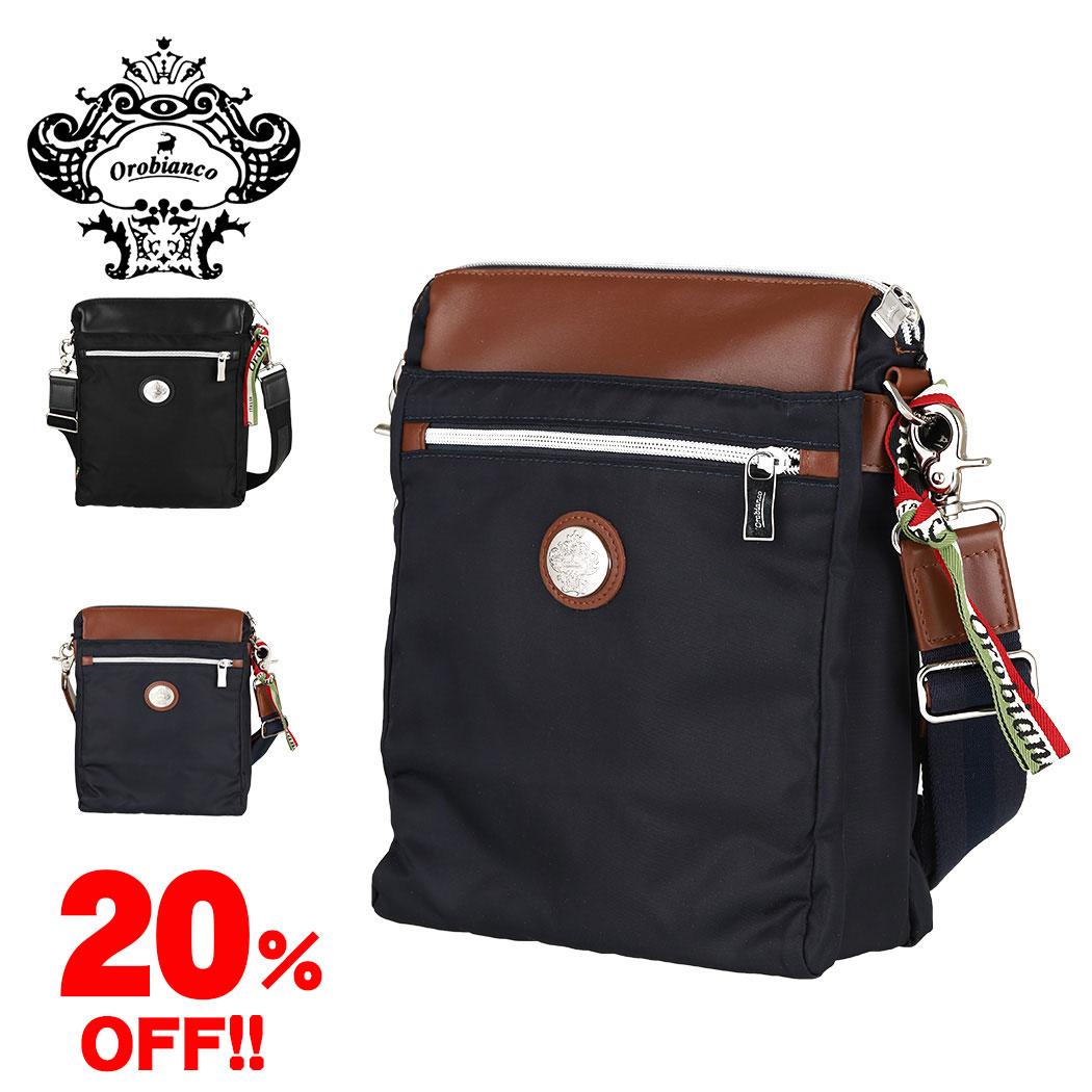 オロビアンコ ボディバッグ ショルダーバッグ OROBIANCO SORBOLE VERT-C 01 ビジネス 鞄 メンズ レディース プレゼント ギフト バレンタイン バッグ orobianco-90676