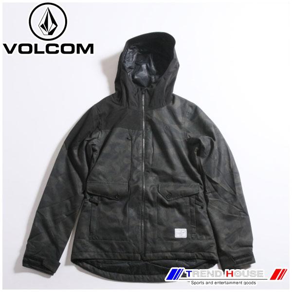 ボルコム レディースジャケット エラインス .ジャケット ERA INS. JKT H0451706-DCA-M VOLCOM