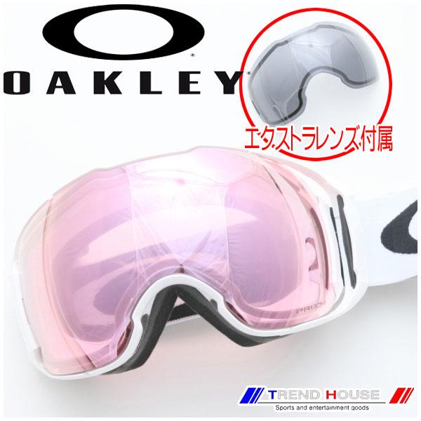 2017 オークリー ゴーグル エアブレイク XL(アジアンフィット) Polished White/Prizm HI Pink + Dark Grey AIRBRAKE XL(ALT FIT) OO7078-05 OAKLEY