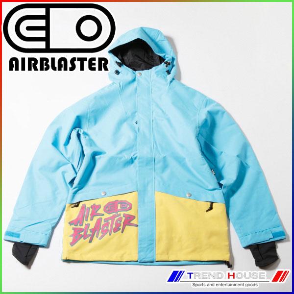2015 エアブラスター JAVIER JACKET turquoise/L AB15MJ1_012-TUR-L AIRBLASTER スノージャケット