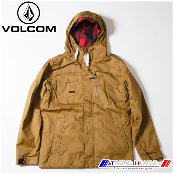 ボルコム 2016 メンズジャケット MONROVIA INS. JKT G0251603-CRL-M VOLCOM