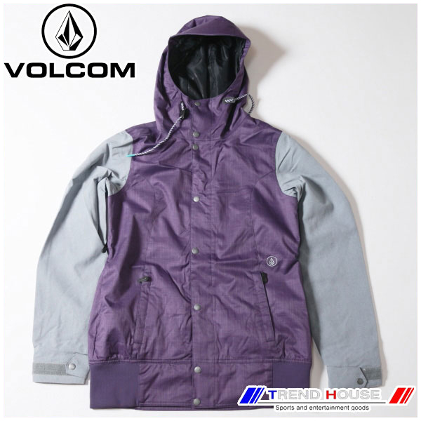 ボルコム 2016 レディースジャケット STAVE JKT H0651607-PUR-M VOLCOM