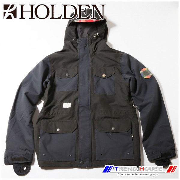 ホールデン スノージャケット Outdoorsman Jacket Black/L HOLDEN OJK-F14-N-JK-BLK-L