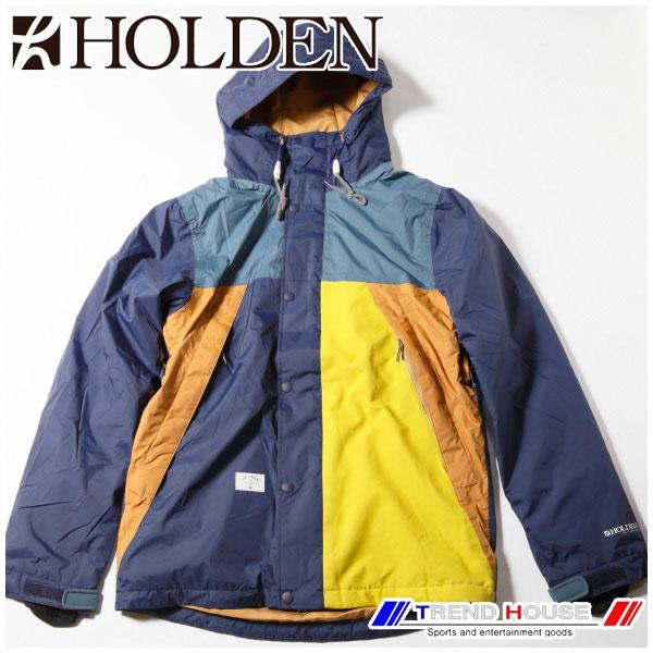 2015 ホールデン スノージャケット Varsity Jacket PEACOAT MULTI/L HOLDEN VJK-F14-N-JK-PCM-L