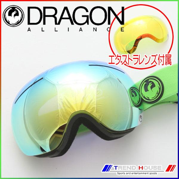 ドラゴン ゴーグル X1 Reflect/Smoke Gold+Yellow Red Ion 722-5421 DRAGON
