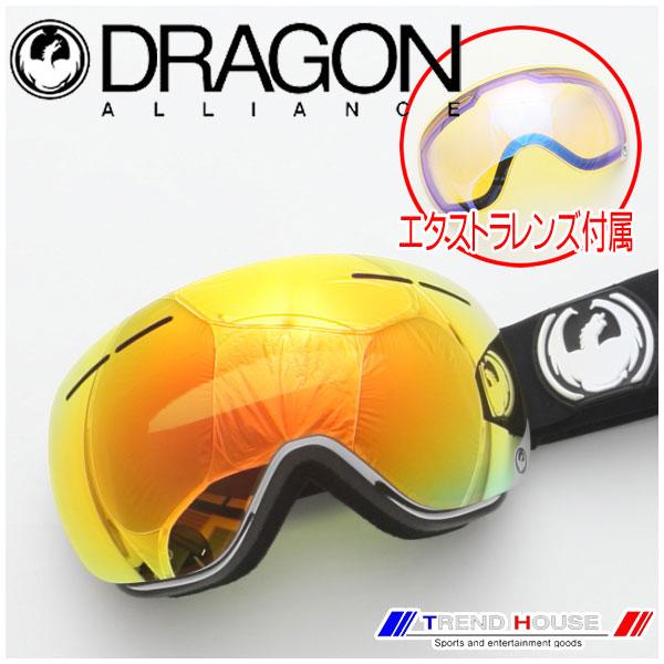 ドラゴン ゴーグル X1s INVERSE/RED ION+YELLOW BLUE ION 722-5441 DRAGON