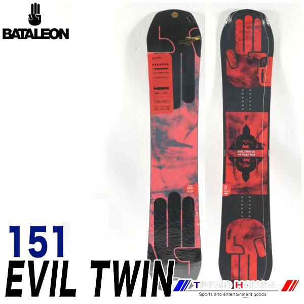 ソールカラー指定可 18-19モデル バタレオン エビルツイン Red/151 メンズ BATALEON EVIL TWIN ジブ・パーク・フリースタイル