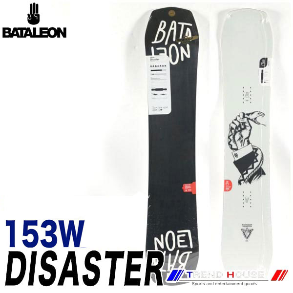 ソールカラー指定可 18-19モデル バタレオン ディザスター ワイド Black/153W メンズ BATALEON DISASTER WIDE ジブ・パーク・フリースタイル