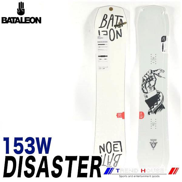 ソールカラー指定可 18-19モデル バタレオン ディザスター ワイド White/153W メンズ BATALEON DISASTER WIDE ジブ・パーク・フリースタイル