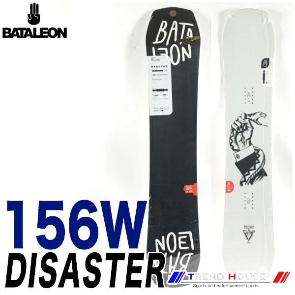 ソールカラー指定可 18-19モデル バタレオン ディザスター ワイド Black/156W メンズ BATALEON DISASTER WIDE ジブ・パーク・フリースタイル