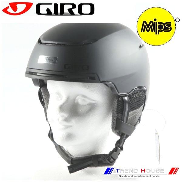 2019 ジロー ヘルメット ジャクソン ミップス MAT BLACK/L(59-62.5cm) 7093735 JACKSON MIPS GIRO