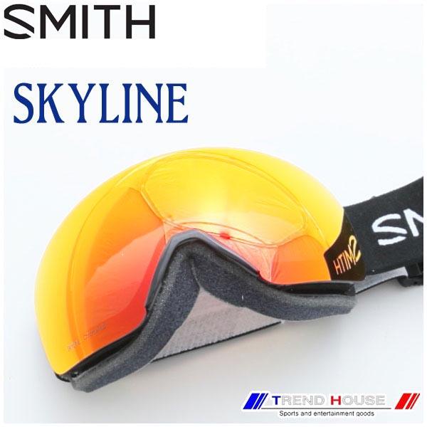 2019 スミス ゴーグル スカイライン アジアンF SKYLINE ASIAN FIT BLACK/CP EVERYDAY RED MIRROR メンズ SMITH