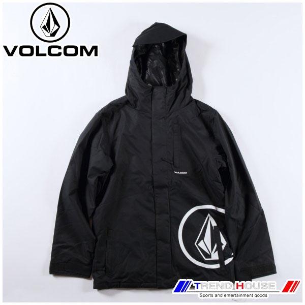 2019 ボルコム メンズスノージャケット 17 ファクトリーインスジャケット 17 FORTY INS JKT G0451908-BLK-L VOLCOM