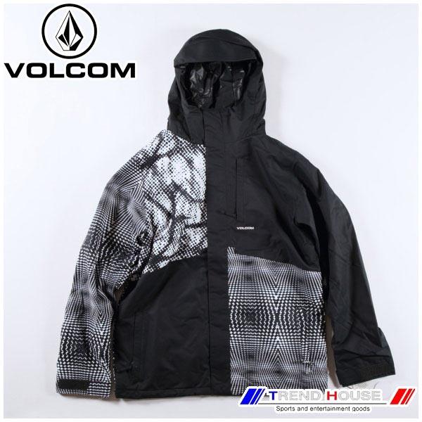 2019 ボルコム メンズスノージャケット 17 ファクトリーインスジャケット 17 FORTY INS JKT G0451908-BWH-S VOLCOM
