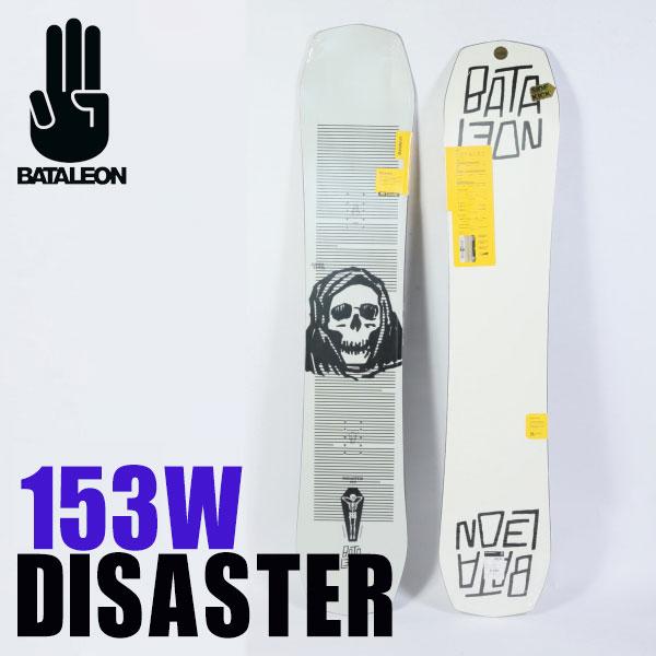 ソールカラー指定可 19-20モデル バタレオン ディザスター ワイド White/153W BATALEON DISASTER WIDE ジブ・パーク・フリースタイル