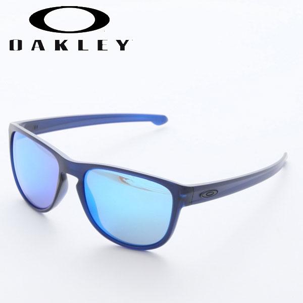 オークリー サングラス スリバー ラウンド Matte Crystal Blue Sapphire Iridium OO9342-09 Sliver Round OAKLEY オークレー