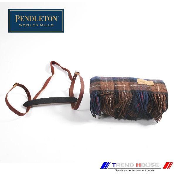 ペンドルトン ブランケット[PENDLETON]CARRY ALONG MOTOR ROBE/キャリーアロングモーターローブ_ZC333-53761_SHELTER BAY PLAID