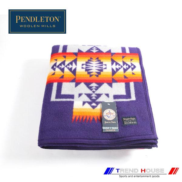 ペンドルトン ブランケット[PENDLETON]/チーフジョセブランケットROBE_ZD411-51103_PURPLE