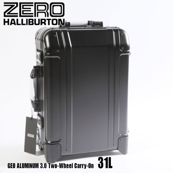 ゼロハリバートン ジオ アルミ 3.0 Two-Wheel Carry-On 31L ZRG2520 Black 94253 GEO ALUMINUM 3.0スーツケース ゲオ ZERO HALLIBURTON
