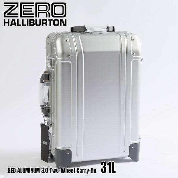 ゼロハリバートン ジオ アルミ 3.0 Two-Wheel Carry-On 31L ZRG2520 Silver 94254 GEO ALUMINUM 3.0スーツケース ゲオ ZERO HALLIBURTON