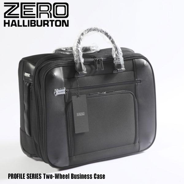 ゼロハリバートン プロファイル シリーズ Two-Wheel Business Case PRF310 Black 80861 PROFILE SERIESビジネスバック ブリーフケース ZERO HALLIBURTON