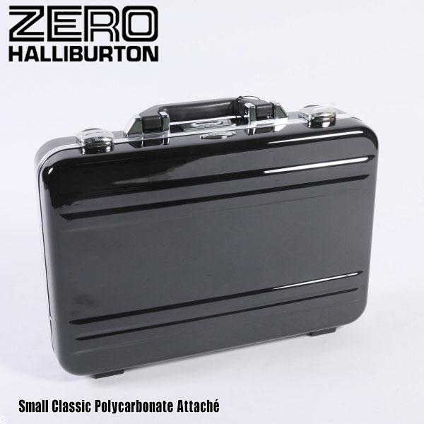ゼロハリバートン クラシック ポリカーボネイト Small AttacheZPA11 Black 80634 CLASSIC POLYCARBONATEアタッシュ ZERO HALLIBURTON