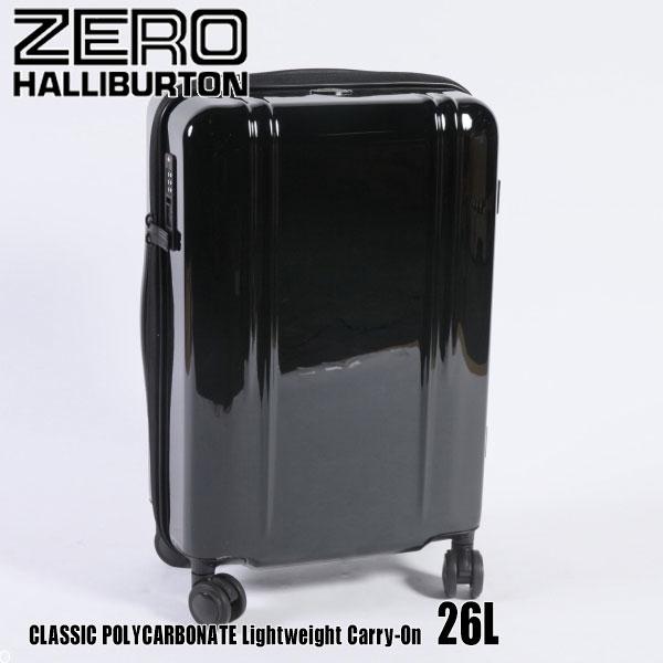 ゼロハリバートン ZRL ポリカーボネイト Lightweight Carry-On ZTL20W Black 80586 ZRL POLYCARBONATEスーツケース ZERO HALLIBURTON