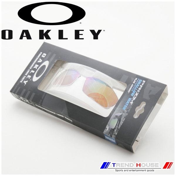 送料込 北海道 沖縄除く 平日12時までで即日発送 自社在庫 オークリー サングラス フラックジャケット プリズム レビューを書けば送料当店負担 シャローウォーター 偏光 上品 交換レンズ 101-105-008 Shallow Flak Jacket Replacement Prizm Polarized Lens OAKLEY Water PRIZM Fresh