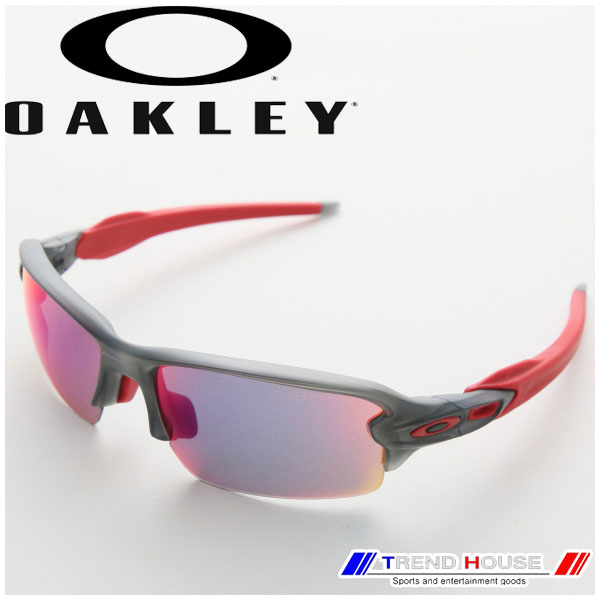 オークリー サングラス フラック 2.0 (アジアン) OO9271-03 FLAK 2.0 (ASIAN FIT) Matte Grey Smoke/Positive Red Iridium OAKLEY