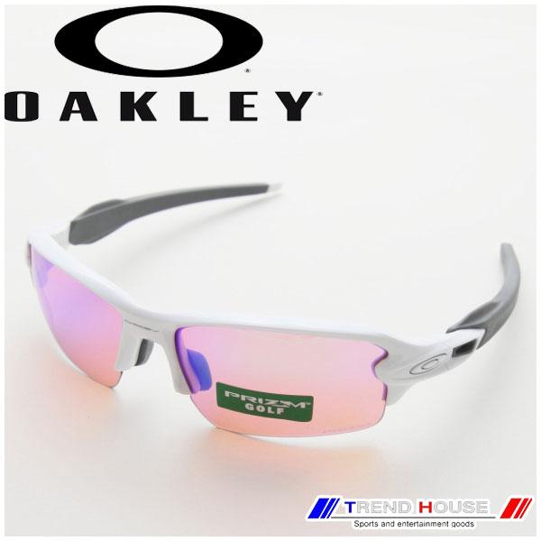 オークリー サングラス フラック 2.0 プリズム ゴルフ (アジアン) OO9271-10 Flak 2.0 PRIZM Golf (Asia Fit) Polished White/Prizm Golf OAKLEY