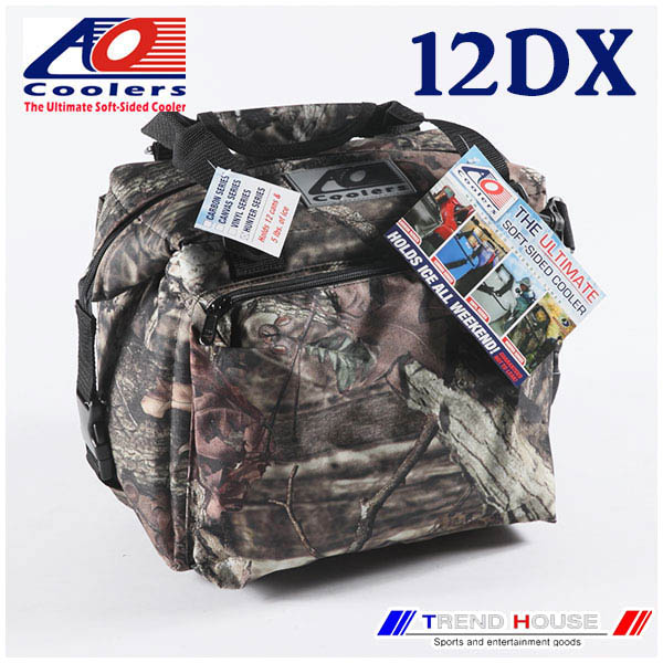 AO Coolers 12PACK DELUX MOSSY OAK / AOクーラーズ デラックス モッシーオーク 12パック