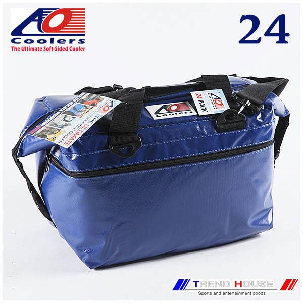 AO Coolers 24PACK VINYL ROYAL BLUE / AOクーラーズ ビニールソフトクーラー 24パック ロイヤルブルー AO COOLERS/AOFI24RB