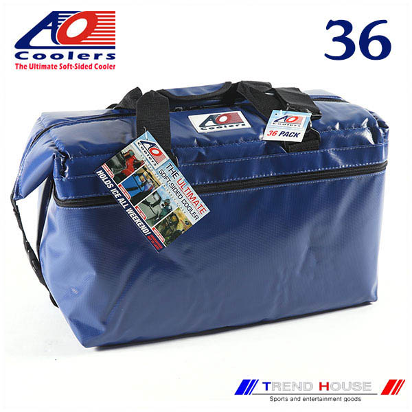 AO Coolers 36PACK VINYL ROYAL BLUE / AOクーラーズ ビニールソフトクーラー 36パック ロイヤルブルー