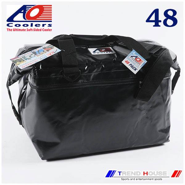 AO Coolers 48PACK VINYL BLACK / AOクーラーズ ビニールソフトクーラー 48パック ブラック