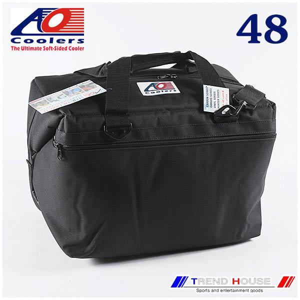 AO Coolers 48PACK CANVAS BLACK / AOクーラーズ キャンバス ソフトクーラー 48パック ブラック